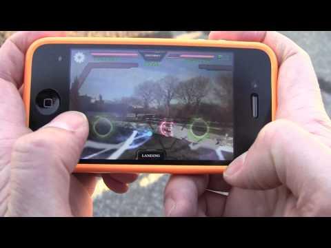 AR Drone duel in Central Park   AR FlyingAce FREE APP