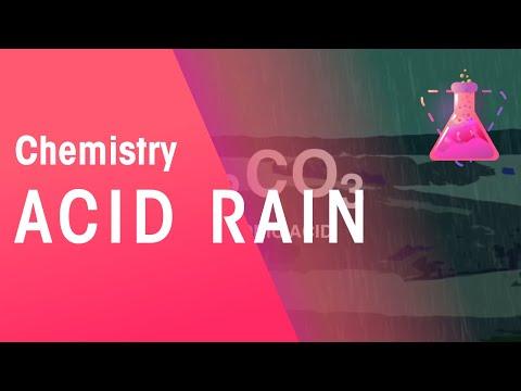 Acid rain | Chemistry for All | FuseSchool