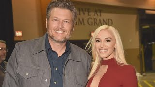Gwen Stefani and Blake Shelton Looked 'Very Much in Love' During Church Outing With Her Kids