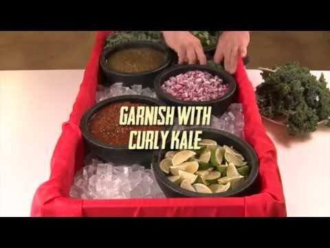 How to set up a salsa bar