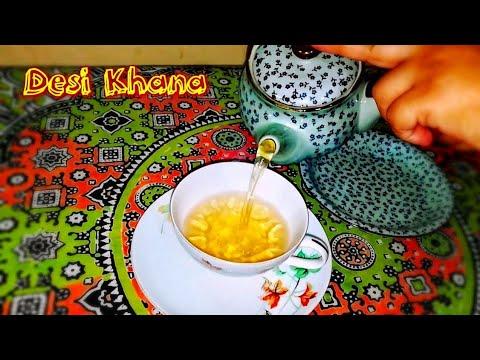 Peshawari Kahwa Tea | Green Tea | Peshawari Qahwa Chai Recipe by Desi Khana