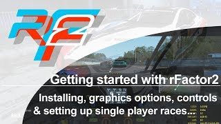 BASIC SETUP GUIDE! How to get a basic setup in rFactor 2, Assetto