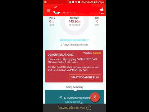 How to get Vodafone 24 gb free data offer | Vodafone Vs Jio | Vodafone free data offer