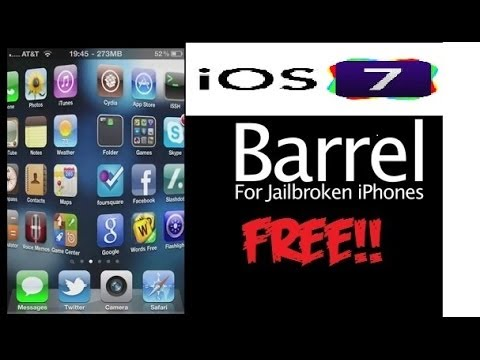 How to get barrel on IOS 7 for FREE!