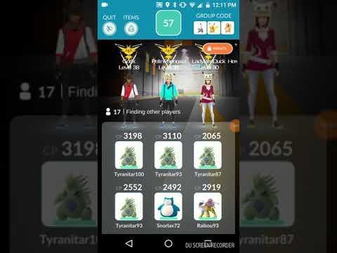 Pokemon GO Mewtwo Raid Louisville, KY 10/27/17