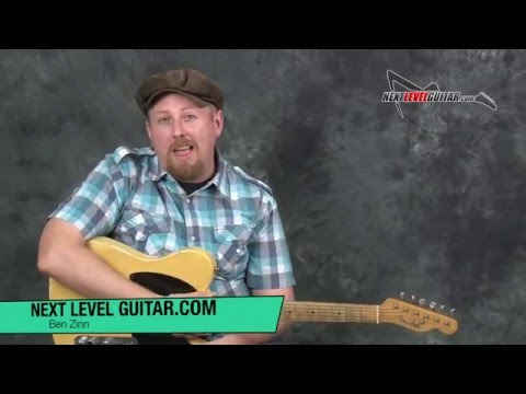 Learn Country lead guitar licks soloing inspired by Pete Anderson guitarist of Dwight Yoakam