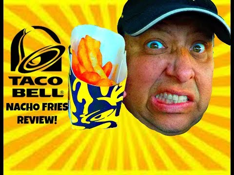 Taco Bell® NACHO FRIES REVIEW!