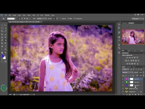 Amazing Photoshop Creation  Retro Style Color Effect
