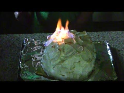 Baked Alaska Flambe Tutorial
