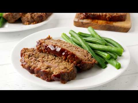 Best Ever Meatloaf with Balsamic Glaze