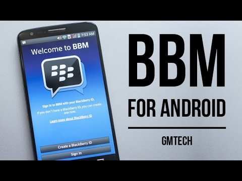 How to install BBM on Android - Create an account and add contacts
