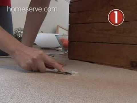 How To Get Wax Off Carpets - HomeServe 5 Minute Fix