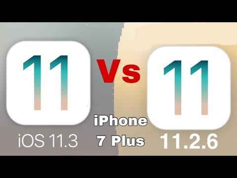 iOS 11.3 vs iOS 11.2.6 speed test on iPhone 7 Plus | iSuperTech
