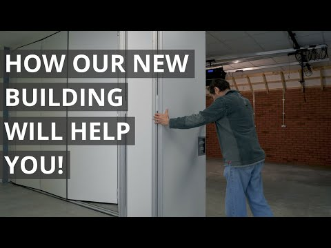 How our new building will help YOU! | Paul Sellers