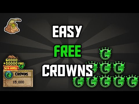 FREE CROWNS | 10k crowns the real way