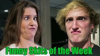 Funniest Skits of The Week  - Ft. King Bach, Logan Paul, Amanda Cerny, Christian DelGrosso & more