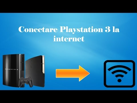 Cum sa conectezi un Playstation 3  la internet!  Conectare PS3 (How To Tutorial)