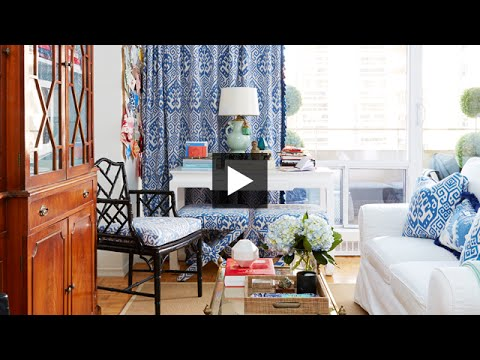 Interior Design — How To Decorate A Bright & Colourful Small Studio Apartment