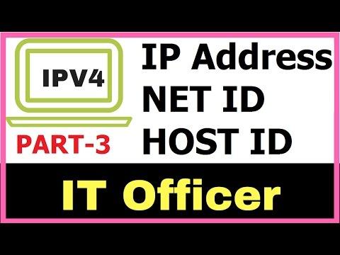 IP Addressing  | Calculate NET ID , HOST ID Mechanism Part - 3