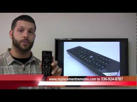 VIZIO VUR10 Bluetooth TV Remote Control with QWERTY keyboard PN: 0980-0306-0005