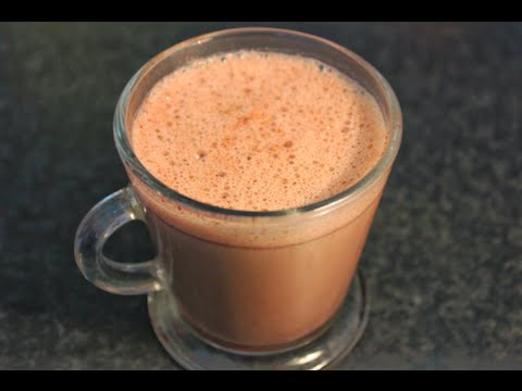 How to make creamy Hot Chocolate in the microwave - quick and easy recipe!