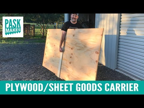 Plywood/Sheet Goods Carrier
