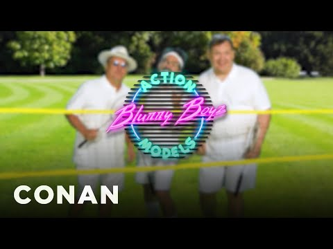Andy Is The Face Of Blurry Boys Action Models  - CONAN on TBS