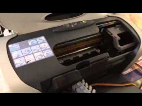 Install CISS System of R230 Inkjet Printer For Sublimation Ink