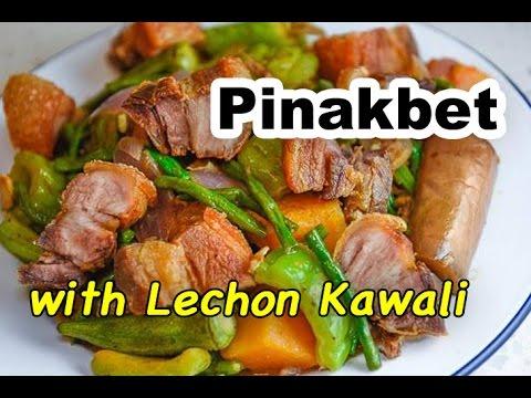 Pinakbet with Lechon Kawali