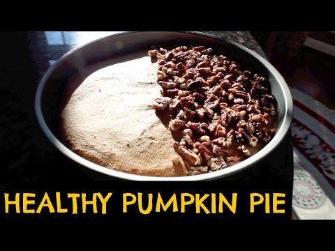 Healthy Pumpkin Pie Recipe!