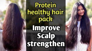 Ged ready for Soft\u0026Silky Hair😍/coconut🥥 milk Hair pack/tamil