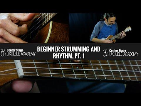 Beginner Ukulele Strumming - Ukulele Strumming Exercise #1