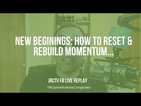 FB Live Repost: New Beginnings: How to reset & rebuild momentum...