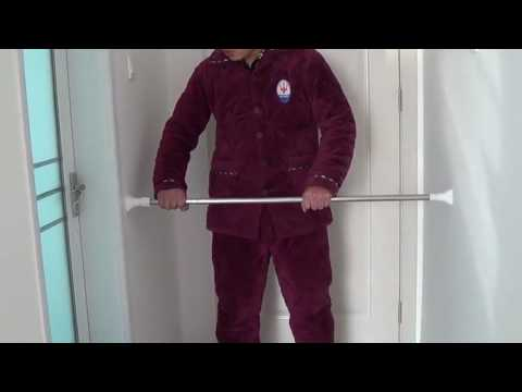 How to install the Taoxi Curtain rods without drilling.