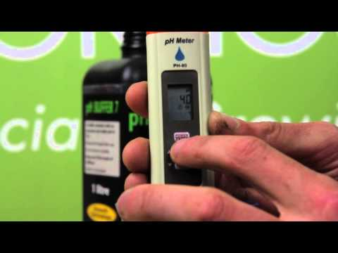 How to Calibrate PH Pens | Greens Hydroponics Tutorial
