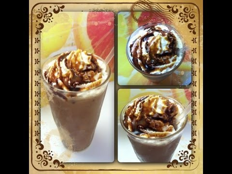 Iced Caramel Mocha; Coffee House Favorite!  Noreen's Kitchen