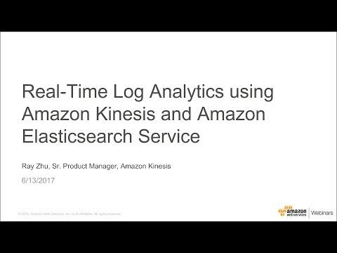 Real-Time Log Analytics using Amazon Kinesis and Amazon Elasticsearch Service