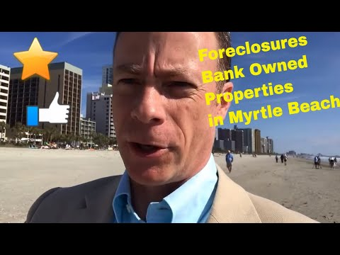 Why can't I find any foreclosures and bank owned properties in Myrtle Beach SC