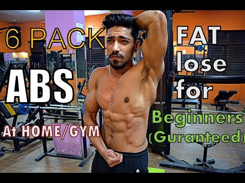 Fat Burning Six Pack ABS WORKOUT for Beginners (no gym)