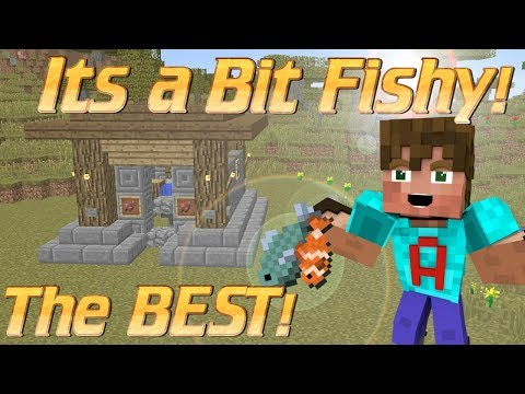 The BEST Minecraft Fish Farm EVER | How to make an AFK Fish Farm in Minecraft | Minecraft Tutorial