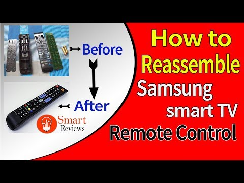 How to fix Samsung smart TV remote control at home   SMART REVIEWS