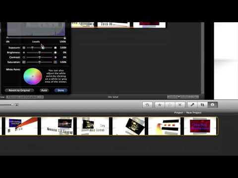 How To Slow Down or Speed Up Video Clips in iMovie 09