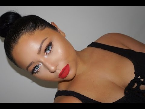 GLAM Red Lips Makeup Tutorial