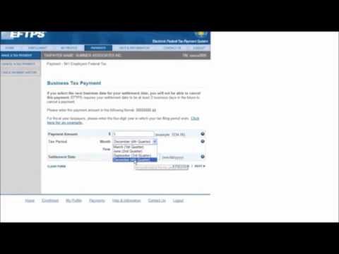 EFTPS Payments Training Module 1