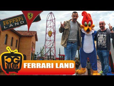 Ferrari Land PortAventura- CG VLOG #308