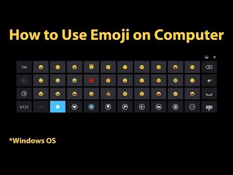 How to Use Emoji on Computer (Windows 8 & newer)