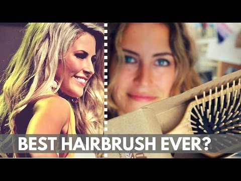 The Best Wood Hairbrush? (unboxing + review)