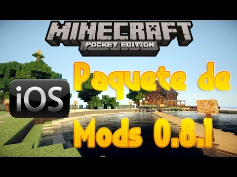 Minecraft PE 0.8.1 Mods iOS