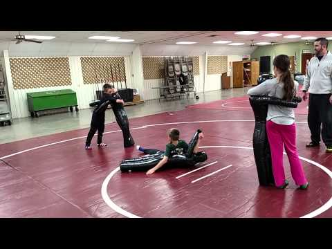 Wrestling Dummies. First lesson.
