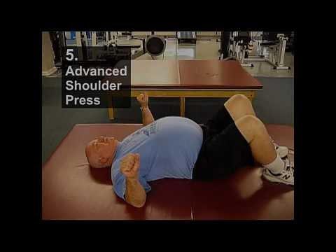 Fall Prevention Exercises (Posture Series) - Advanced Shoulder Press